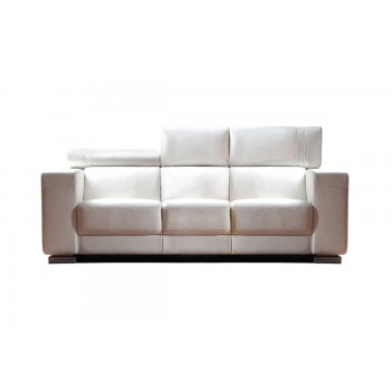 Dante 1651 3 Seaters Leather Sofa